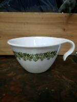 Corelle Coffee Cup PYREX SPRING BLOSSOM Crazy Daisy Green