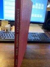 New listing Handweaver's Instruction Manual Harriet Douglas 1949 Weaving Loom