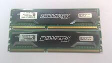 8GB (2x 4GB) PC3-12800 Crucial Ballistix Sport Memory Kit DDR3 RAM 1600MHz DIMMs