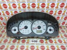 04 2004 FORD ESCAPE INSTRUMENT CLUSTER SPEEDOMETER 3L8T-10849-AC OEM 271K