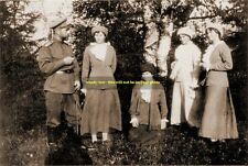 mm377 - Czar Nicholas Romanov Russia & family in 1914 - Royalty photo 6x4""