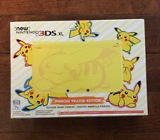 NIB Pickachu Yellow Edition New Nintendo 3DS XL ~NIB~ Factory Sealed Console
