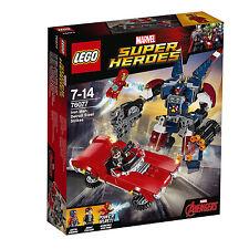 Lego 76077 Iron Man gegen Detroit Steel 3 Figur Marvel Comic Super Heroes NEU