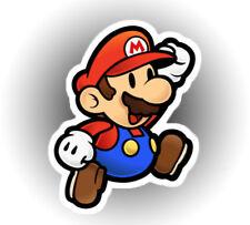 Suoer Mario Bros car laptop sticker