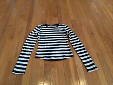 Tommy Jeans Girls Striped Long Sleeved Shirt - Size Small