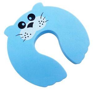 Foam Door stopper Baby Child Kids Safety Animal styler Finger Protector Guard
