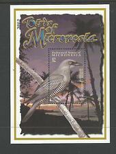 2001 Birds of Micronesia Mini Sheet No 3802  complete MUH Value