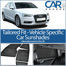 AUDI A3 4DR 2012> On SALOON UV CAR SHADES WINDOW SUN BLINDS PRIVACY GLASS TINT