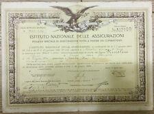 46) Istituto Nazionale Assicurazioni Combattenti stipulata da un Carabiniere