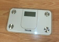 Taylor Glass Digital Mini 350lb Compact Spacesaver Bath Bathroom Scale 7086W
