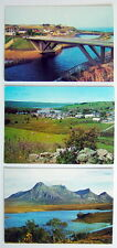 LOT OF 3 VINTAGE UNUSED POST CARDS, SCOTLAND **** 3 CARTES POSTALES ÉCOSSE..