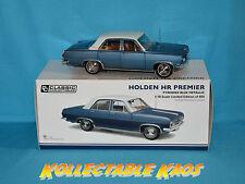 1:18 Classics - 1966 Holden HR Premier Sedan - Pyrenees Blue Metallic