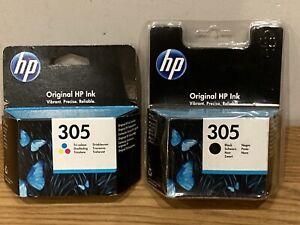 HP Ink cartridges 304 Tri-Colour Black 305 Ship Worldwide