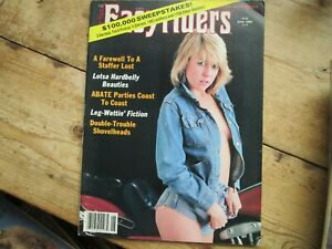 EASYRIDERS MOTORCYCLE MAGAZINE ADULTS ONLY JUNE 1984