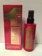 UNIQ ONE UNIQUE 1 ALL IN ONE HAIR TREATMENT SPRAY  - 5.1oz + FREE TRAVEL SIZE!