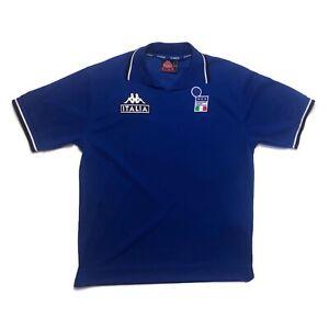 🔥Italy 1998/00 Polo Shirt Kappa Original BNWT DEADSTOCK - Size Large🔥