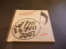 THE WHO 2007 TOUR SHEFFIELD 23 05 07 LIVE DVD FREE POST