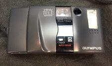 Olympus Infinity Tele 35mm Film Camera Tested Works Made In Japan