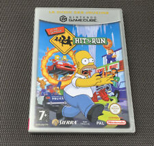 The Simpsons Hit & Run - Jeu Nintendo Gamecube - Complet Pal FR