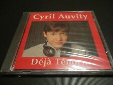 "RARE! CD NEUF ""CYRIL AUVITY - DEJA TENOR ..."" 10 titres"