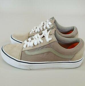 Vans Off the Wall Scotchgard 3M Womens US8.5 Shoes Beige Mens US7 Unisex