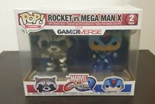 Funko Pop. Marvel - Rocket Vs Mega Man X Twin pack