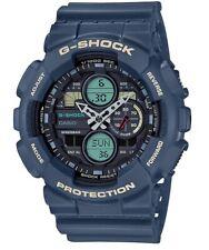 Casio G-Shock *GA140-2A Anadigi Blue Resin Watch for Men Ivanandsophia