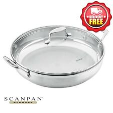 Scanpan Impact Chef Pan 32cm w/ Cover LID | 18/10 stainless steel | RRP $189