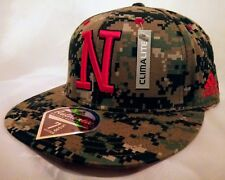 Nebraska Cornhuskers Addidas Pixelated Camouflage 7 5/8 Fitted NWT