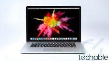 "MacBook Pro 2015 15"" Retina 2.8 i7 512GB SSD 16GB 1 Year Warranty + NEW BATTERY"
