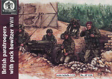 Waterloo 1815 - British paratroopers with pack howitzer WWII - 1:72