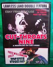 NEW RARE OOP CODE RED CUT-THROATS NINE & JOSHUA LAWLESS LAND DOUBLE FEATURE DVD