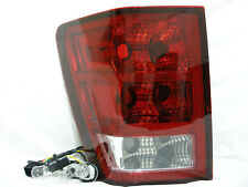 Rear Tail Light Lamp w/3 Light Bulbs Driver Side For 2005 2006 Grand Cherokee