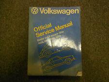 1966 1969 VW Beetle Karmann Ghia Official Service Repair Shop Manual BOOK 66 69