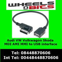 Audi A4 A5 A6 A8 Q5 Q7 R8 TT To USB flash driVe mp3 to mmi adi ami interface