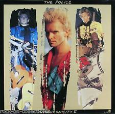 The Police 1983 Synchronicity II Original Promo Poster