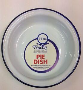 Falcon Enamel Round Pie Dish 18cm