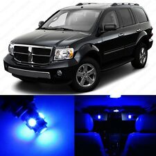 6 x Ultra Blue LED Interior Light Package For 2004 - 2009 Dodge Durango