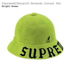 SUPREME KANGOL BERMUDA CASUAL HAT (BRIGHT GREEN) (LARGE) SS20 BERMUDA LAWN CHAIR