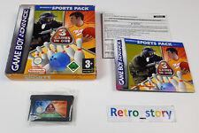 Nintendo Game Boy Advance GBA Majesco's Sports Pack PAL