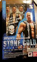WWE WWF Stone Cold Steve Austin SH Figuarts Tamashii Superstars NEW SEALED MINT