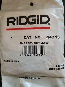 Ridgid Jaw Inserts E-1666-X  44715