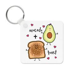 Avocat plus Toast Porte clé Porte-clés - drôle blague