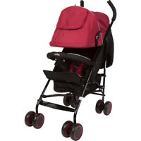 Evezo Travis Lightweight Umbrella Stroller with Canopy with Full Recline