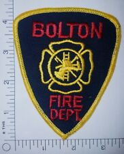 Bolton New York Fire Department Patch