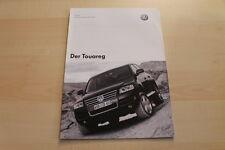 82847) VW Touareg - Preise & Extras - Prospekt 11/2002