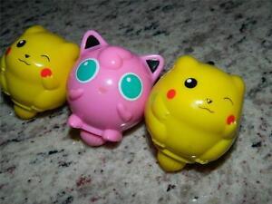Nintendo's Pokeman/Pikachu & Jigglypuff Battle Top Toys-Kellogg's Promos 2000