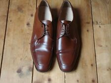 ECCO mens shoes size EU44 UK10 brown lace up