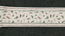 Wallpaper Border retro abastract splashes Rose Pink taupe