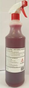 ENGINE DEGREASER 1 LITRE TRIGGER OIL AND GREASE REMOVAL IDEAL ON ENGINES QUICK